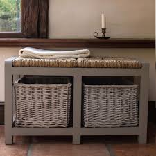 Benches Entryway Bench Entryway Bench With Baskets Elegant Entry Shoe Storage Is