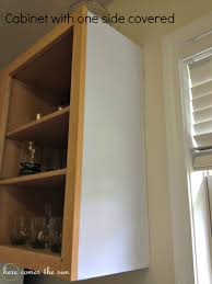 covering cabinets with contact paper update your cabinets with contact paper