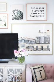how to create a gallery wall with minted living room artwork