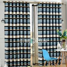 striped navy curtains navy striped curtains target