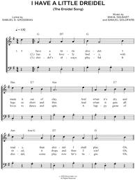 musical dreidel s e goldfarb i a dreidel sheet easy piano