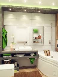 bathroom fresh green and white combination bathroom ideas for