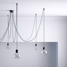Hook For Ceiling Light by Hook Black Ceiling Hook And Stop For Fabric Cable