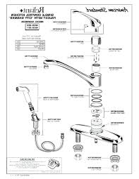 moen kitchen faucet parts diagram moen bathroom faucet parts simpletask club