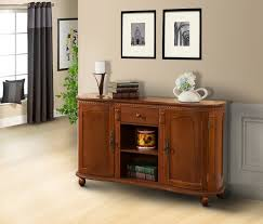 Buffet Tables And Sideboards by Walnut Wood Sideboard Buffet Console Table With Storage Drawer