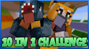 Stampy And Squid Adventure Maps 10 In 1 Challenge Minecraft Custom Map W Stampy Youtube