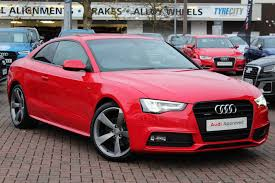 pink audi used audi a5 black edition red cars for sale motors co uk