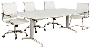 Global Boardroom Tables Shipshape Harmony Boatshaped Boardroom Table 3000mm X 1200mm