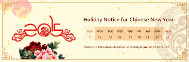 And New Year Holidays In The Sun Notice Of Lunar New Year