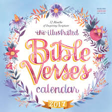 amazon black friday blu ray calendar the illustrated bible verses wall calendar 2017 workman