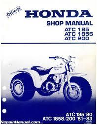 1980 1983 atc185 atc200 honda shop manual u2013 repair manuals online