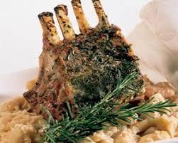 recette carré d agneau persillé