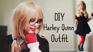 cheap u0026 simple diy harley quinn costume youtube