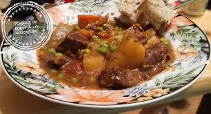 cuisine à la mijoteuse ragoût de boeuf à la mijoteuse recette réconfort au bout de la