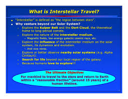 define traveling images Advanced space propulsion concepts for interstellar travel jpg