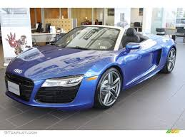 Audi R8 Blue - 2014 sepang blue pearl effect audi r8 spyder v10 80723242 photo