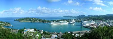 England Google Maps by Google Map Of Castries Saint Lucia Nations Online Project