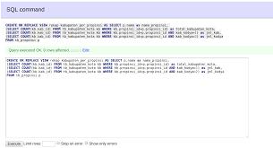 query membuat tabel di sql belajar membuat tabel view di mysql agus wiji suhariono