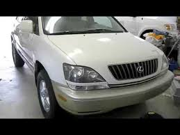 lexus rx 300 1999 1999 lexus rx300 jumping battery and test drive