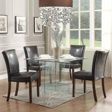 modern dining room set 70 most matchless small glass dining table set modern room