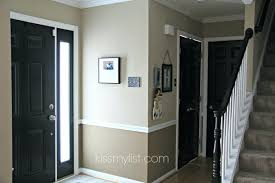 front doors hallway makeover part 2 black doors inside front