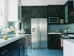 Black Cupboards Kitchen Ideas Paint Colors For Kitchen Cabinets Pictures Options Tips U0026 Ideas