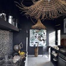 Kitchen With Track Lighting by Rustic Modern Interiors Bedroom With Canopy Bed And Wallpaper And