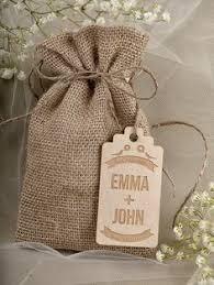 burlap wedding favor bags rustic burlap wedding favor bag wedding by decoriswedding