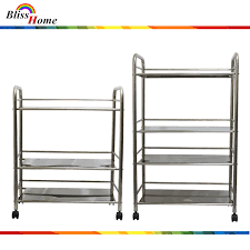 3 tier stainless steel kitchen shelves catering storage with heavy