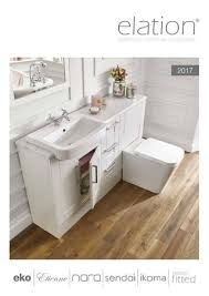 Elation Bathroom Furniture Elation Brochure 2017 By Claygate Distribution Limited Issuu