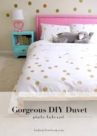 Duvet At Ikea Easy Painted Dot Duvet Diy Andrea U0027s Notebook