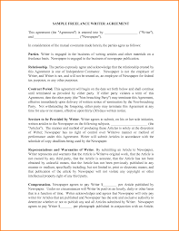 Contract Templates Free Word Templates 9 Freelance Contract Template Letter Template Word