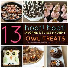 13 adorable edible owl treats