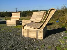 Pallet Wood Patio Furniture - pallet wood easy lounger 3 piece suite u2022 1001 pallets