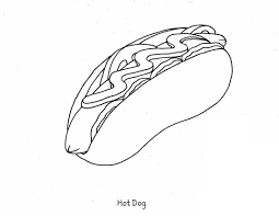8 images of printable coloring pages of food food free