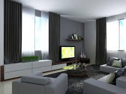 grey wall living room design centerfieldbar com