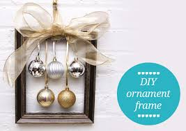 diy wreath alternative ornament frames
