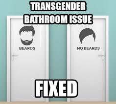 transgender bathroom issue solved samson the beard