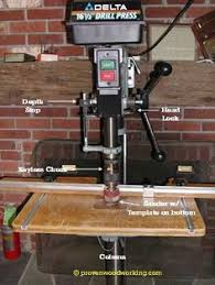 Fine Woodworking Bench Top Drill Press by Drill Press Table Jigs Fine Woodworking Workshop Ideas
