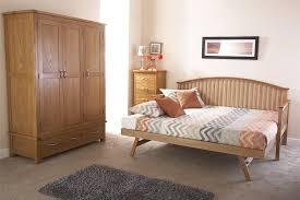 madrid wooden 3ft single day bed frame u0026 trundle guest bedstead