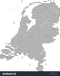 Map Of Netherlands Map Netherlands Stock Vector 284921213 Shutterstock