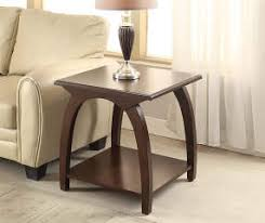 cherry end table with curved legs big lots