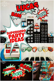 Avengers Table And Chairs An Avengers Inspired Super Hero Birthday Party Spaceships And