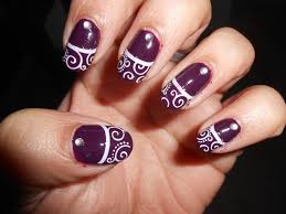 swirl nail design gallery nail art designs