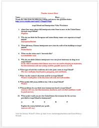 angel island and immigration video worksheet webquest by history