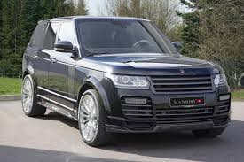 mansory cars range rover tuned by mansory evo