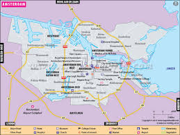 where is amsterdam on a map amsterdam map city map of amsterdam capital of netherlands
