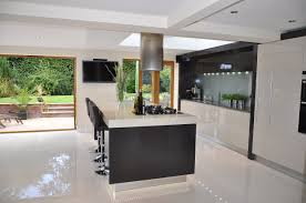 Modern Kitchen Living Kitchen Design by Sleek Kitchen Designs For Modern Style Living Space