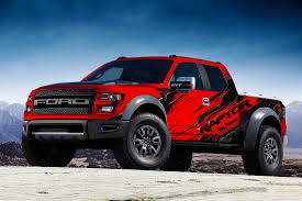 Ford Raptor Truck Tires - indmar ford raptor truck wrap zdecals