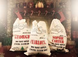 personalised present sack treats on trend